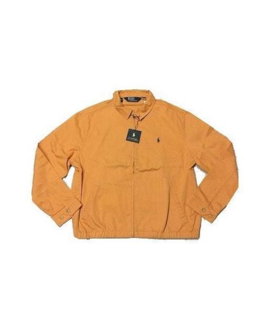 セール新品PoloRalphLaurenポロラルフローレン★オレンジブルゾン★ジャケット2XL  < 男性ファッションの