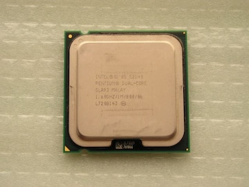 CPU  Intel Dual-Core E2140 (1.6GHz) LGA775