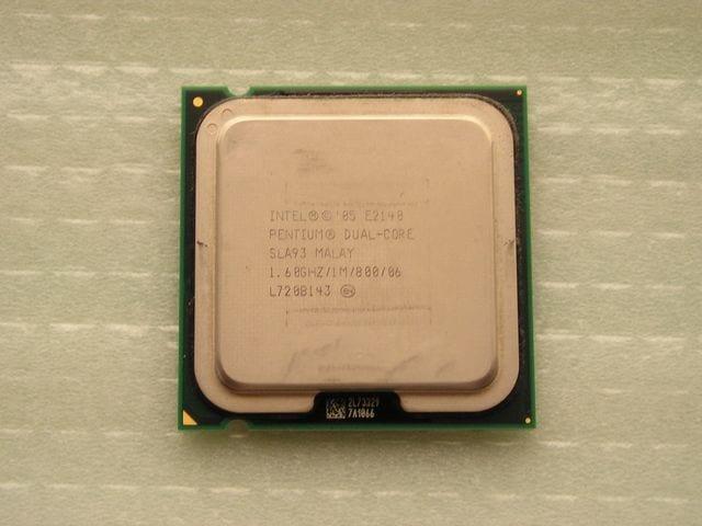 Lot of 2 Intel Pentium Dual Core E2140 1.6GHz 1.60GHz//1M//800 SLA93 LGA775 CPUs