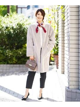 ☆avvスエード・ボアリバーシブルコート☆超美品XS