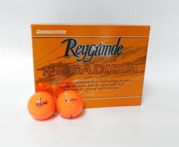新品即決 ブリヂストン MEGADISTA オレンジ 1ダース