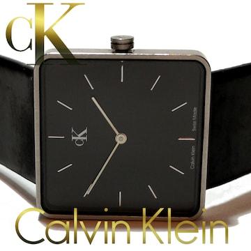 良品 1スタ★カルバンクライン/CK【スイス製】モダンな腕時計