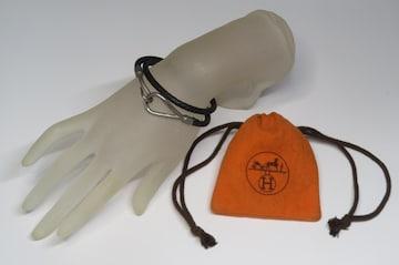Hermes エルメス ジャンボ 2重ブレスレット 保存袋付き