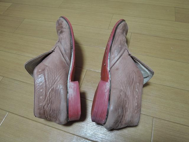 グラムglamb転写レザーシューズ2革スニーカーVibram靴ブーツ < ブランドの