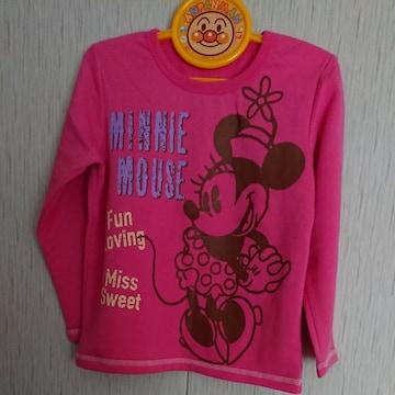 ミニーマウスのトレーナー☆size110