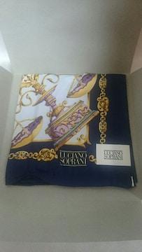 正規品 未使用 LUCIANO SOPRANI スカーフ