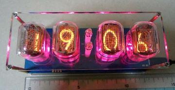 ニキシー管時計 Nixie Clock IN-12 +おまけ