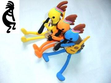 人気商品 ココペリ お座り 人形 タイプ  青 ブルー