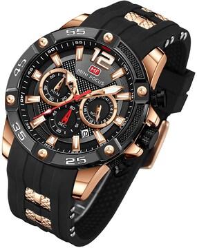 お宝出品★高評価 新作1ランク上のハイセンス腕時計 黒×金