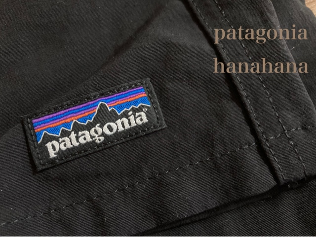 patagonia*woman'sバギーズショーツ未使用!黒Sサイズ < ブランドの