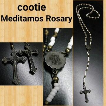 定価20680円 cootie Meditamos Rosary ロザリオ ネックレス kj着用