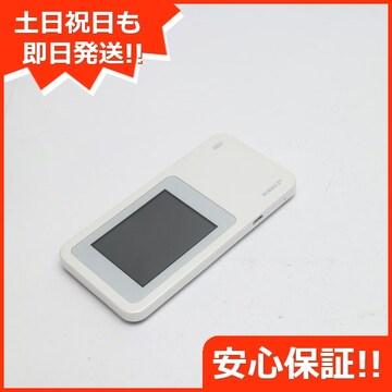 ●安心保証●美品●au W01 Speed Wi-Fi NEXT ホワイト●