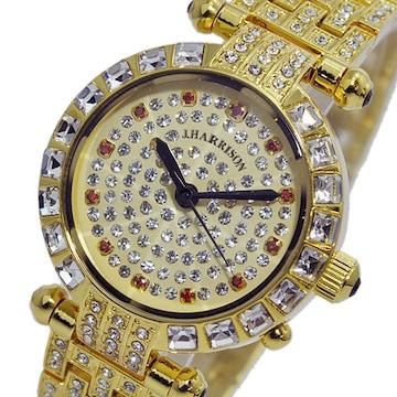 ジョンハリソン  ソーラー 電波 レディース 腕時計 JH-088LG