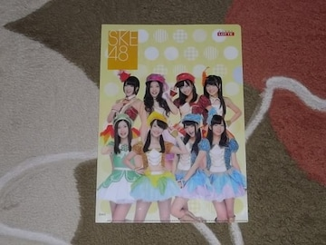 ☆SKE48 クリアファイル LOTTE★