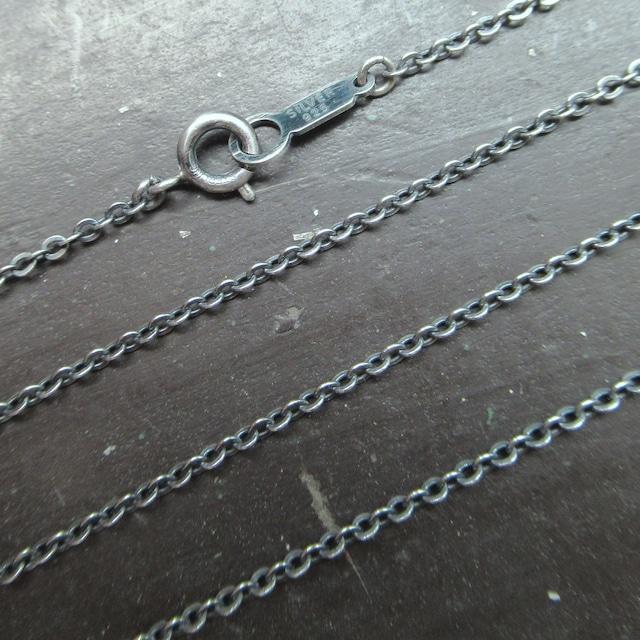 40センチ1ミリ幅 silver925チェーン  < 女性アクセサリー/時計の