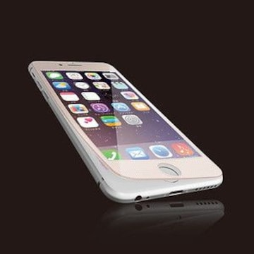 ☆ELECOM iPhone6s Plus/6 Plus用 液晶保護ガラス  ピンク