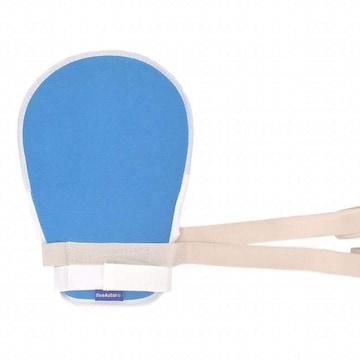 介護用ソフト メッシュ 手袋 紐パット付き1枚