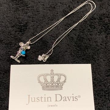 新品◆JUSTIN DAVIS×DISNEY◆ミッキーネックレス◆40cm◆完売◆