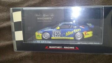 ミニチャンプス  ポルシェ911  GT3  Cup