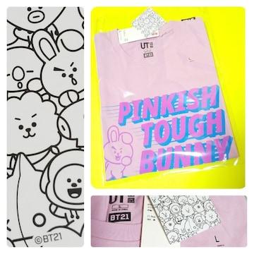 BTS 防弾少年団★ユニクロ BT21 UT【新品】L Tシャツ★ジョングク