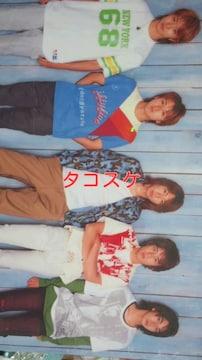 ARASHI summer2002HERE WE GO! グッズ下敷き