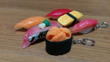 食品サンプル!リアルなお寿司!6貫まとめて!