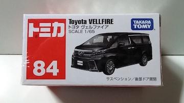 新品 トミカ  84 トヨタ  ヴェルファイア
