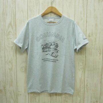 即決☆コロンビア特価オレゴンTシャツ GRY/XL 半袖 新品