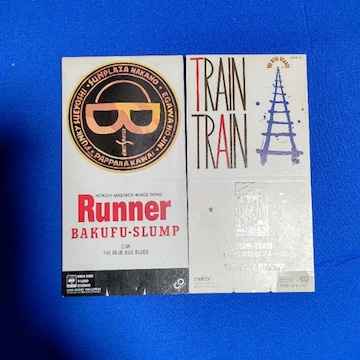 CDs '88 Runner 爆風スランプ TRAIN-TRAIN THE BLUE HEARTS