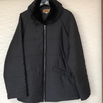イエリー黒コート Lサイズ らくらく便800円