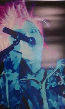 X JAPAN hide ポスター ヒデ PSYENCE A GO GO 迷彩