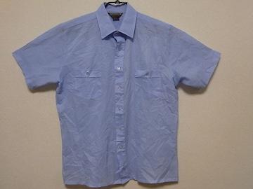 即決USA古着●DAVID HARRISONストライプデザイプ半袖シャツ!アメカジ・レア