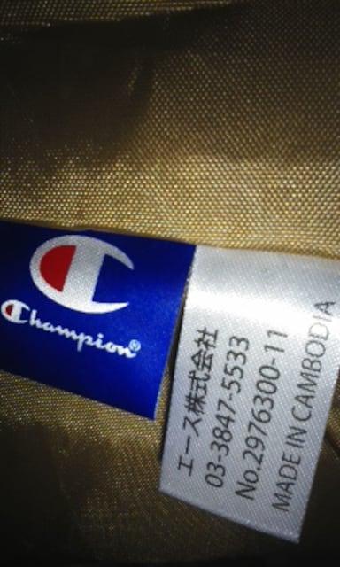 チャンピオン大きめショルダーバッグ斜め掛け可能未使用タグ付き < ブランドの