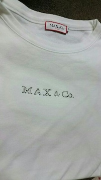 MAX&Co.■マックスアンドコー Tシャツ 半袖 ラインストーン