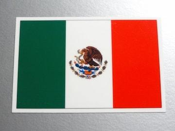 1■メキシコ国旗ステッカー1枚 シール ☆即買!■スーツケースに