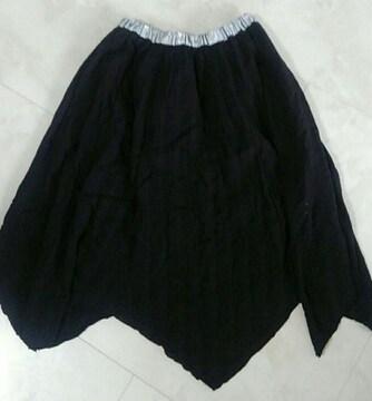 ウエストゴム 春物スカート