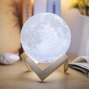 ★送料無料★ USB 月光 月のランプ 白光・黄光に切替可能