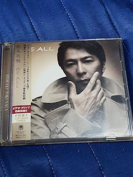 徳永英明 WE ALL CD+DVD 2枚組帯付き
