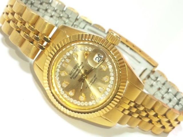 11831/SUCCESSO高級感漂うキラキラ宝石のような素敵なレディース腕時計