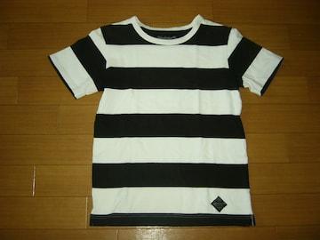 ネイバーフッド NEIGHBORHOOD ボーダー Tシャツ S 白黒 BAR