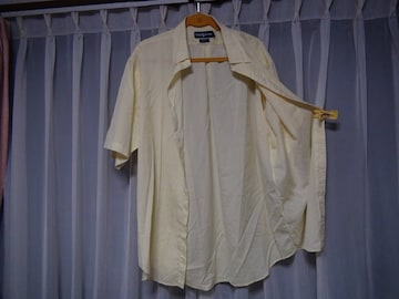 Ralph Laurenのドレスシャツ(LL)イエロー!。