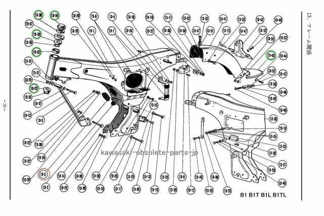 川崎 B1 B1L KC125 F2 ダストシール・エアクリーナー 絶版 < 自動車/バイク