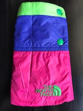 美品 ノースフェイス キッズ ダウンスカート 90 マルチカラー