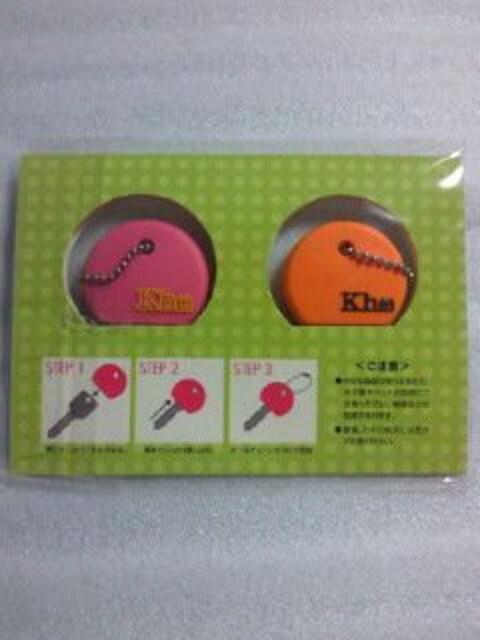 平井堅 オフィシャル ファンクラブ キーホルダー キーカバー 2種類 セット Kh(+) < タレントグッズの