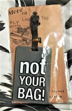 バッグタグ★ネームタグ★ネームホルダー★not your BAG!★