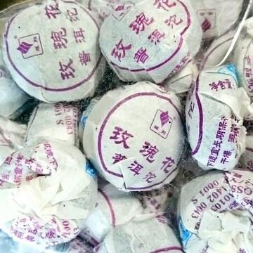 ★プーアル花茶 薔薇沱茶 バラの花入り小とう茶 30個 大阪聯