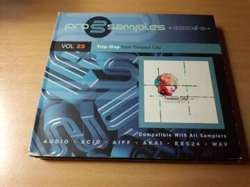 サンプリングCD「Prosamples Vol.23 Trip Hopトリップホップ」●