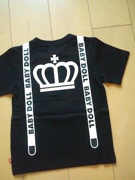 新品ネクタイTシャツ黒110ベビードールBABYDOLLベビド