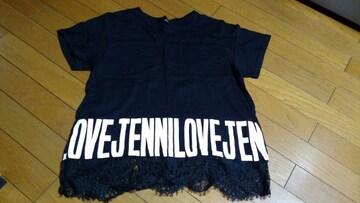 JL-ロゴTシャツ160ブラック