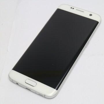 ●安心保証●美品●au SCV33 Galaxy S7 edge ホワイト●